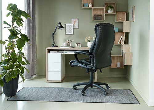 Scaun birou TJELE negru