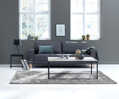 Sofa EGENSE 3-seter grå
