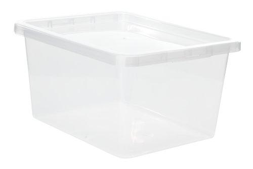 Boîte rang. BASIC BOX 20L a/couv. tran.