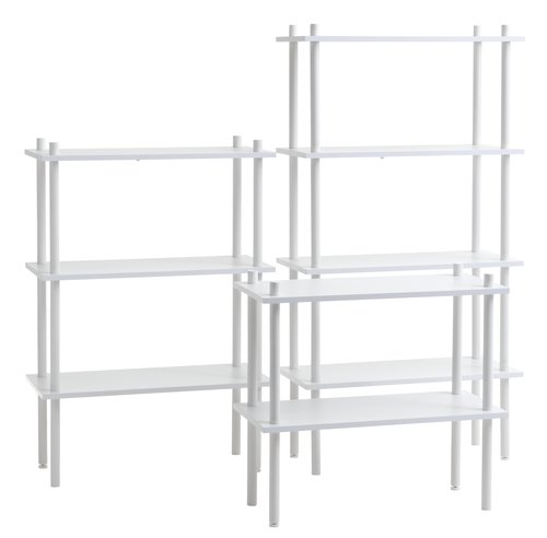 Shelving unit TEGLUM 3 shlv. white