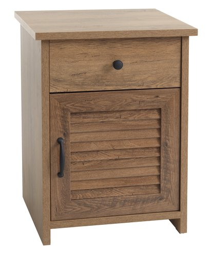 Bedside table MANDERUP 1 drw wild oak