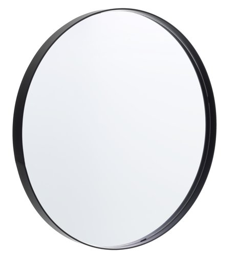 Spegel MARSTAL Ø50 svart
