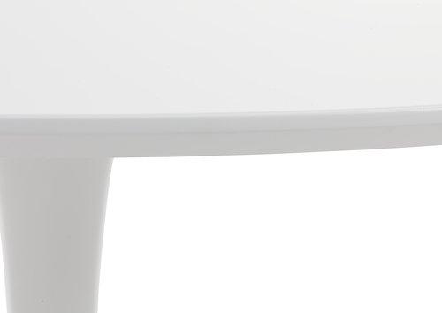 Tavolo da pranzo RINGSTED Ø100 bianco