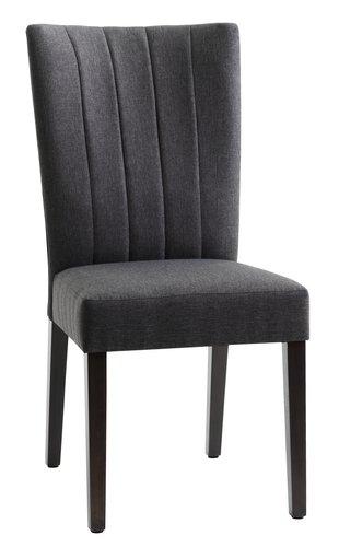 Jídelní židle LAMBJERG šedá