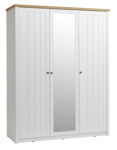 Kleiderschrank MARKSKEL 162x210 cm
