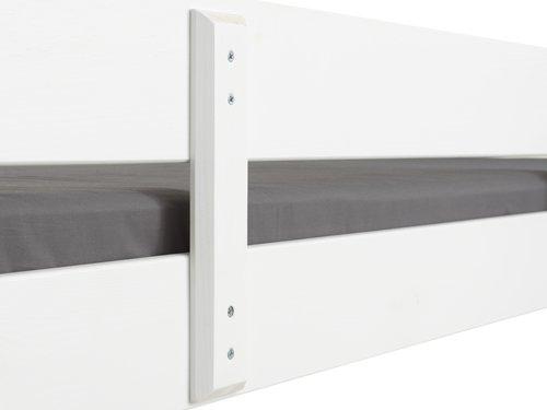Lit mezzanine VESTERVIG 90x200 blanc