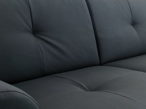 Sofa DAMHALE 2-seter svart
