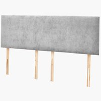 Headboard PLUS H10 DREAMZONE SKG Grey-37