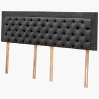 Headboard H100 CHESTER KNG Grey-44