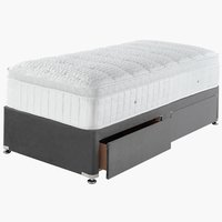 Divan Base GOLD D10 2 drw SGL Grey-43