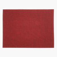 Mantel individual VALLMO 33x42 rojo