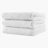 Gjestehåndkle FLISBY 40x60 hvit