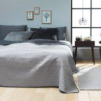 Sängöverkast ROSENTRE 240x260 grå/m.grå