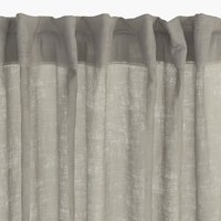 Curtain UNNEN 1x140x245 linen-look sand