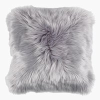 Cushion TAKS 40x40 faux fur grey
