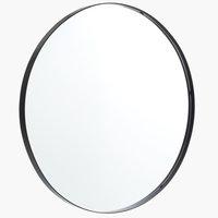 Speil MARSTAL Ø70 svart