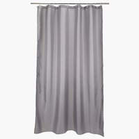 Shower curtain HAMMAR 180x230 grey
