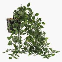 Τεχνητό φυτό OLIVER γ/κρέμασμα μ/γλάστρα