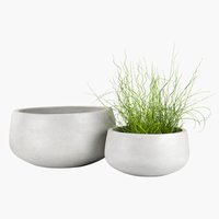 Garden planter UGGLA 2pcs/pk. grey