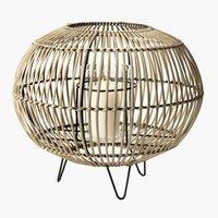 Lanterne EGEHJORT Ø32xH26 bambus