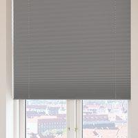 Plisségardin FYN 120x160 lysdemp grå