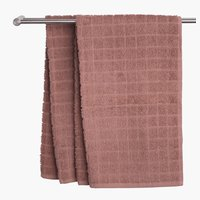 Hand towel KARBY dusty rose