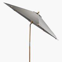 Market parasol LEMVIG D300 grey