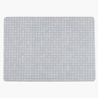 Place mat ARTISKOKK 30x43 pattern grey