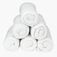Plahta žersej 160x200x25cm bijela
