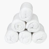 Σεντόνι πετσετέ 170/180x200x25cm λευκό