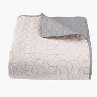 Ágytakaró ROSENTRE 160x220 szürke/bézs