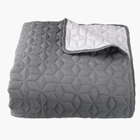 Bed throw ROSENTRE 240x260 grey