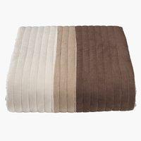 Prekrivač KLATRELILJE 160x220 cm smeđa
