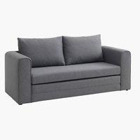 Sofa bed SKILLEBEKK light grey
