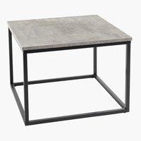 Tavolino DOKKEDAL 60x60 cemento