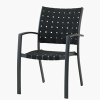 Stacking chair JEKSEN black