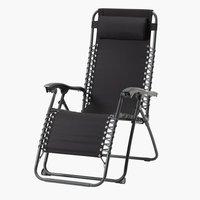 Relaks-stolica HALDEN čel/poli crna