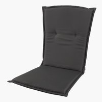 Cushion high back chair GUDHJEM d.gry
