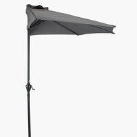 Balcony parasol KOLDING W270xL135 grey