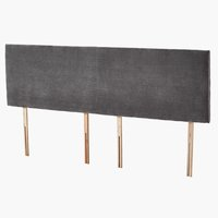 Headboard 180x50 H10 PLAIN Grey-45