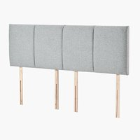 Headboard 180x58 H50 STITCHED Grey-39