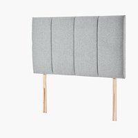 Headboard 135x76 H50 STITCHED Grey-39