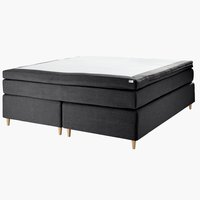 Boxspring 180x200 GOLD C75 donker grijs