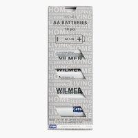 Pilas WILMER AA 10unidades/paquete