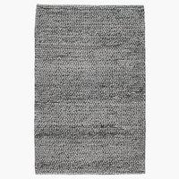 Teppe RABBESIV 65x120 melert grå