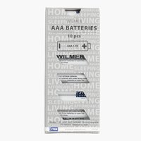 Batteries WILMER AAA 10 pack