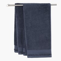 Bath towel NORA dark blue KRONBORG