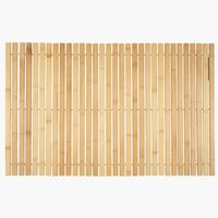 Bath mat MARIEBERG 50x80 bamboo KRONBORG
