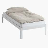Bed frame POLDEN SGL white