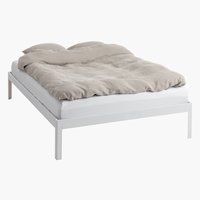 Bed frame POLDEN SKNG white